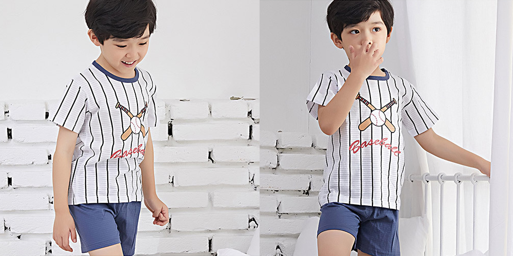 Olomimi Baseball Kid Pyjamas