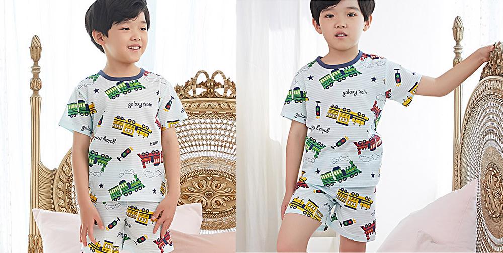 Olomimi galaxy train Kid Pyjamas