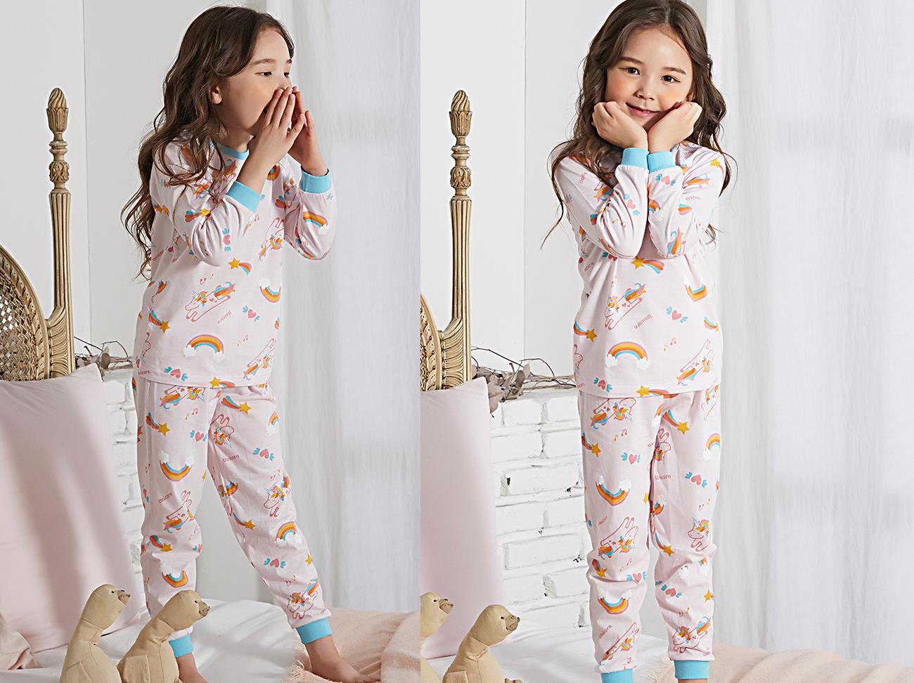 Olomimi Unicorn World Kid Pyjamas product display