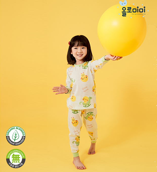 Olomimi Chicky Chicky Kid Pyjamas Set